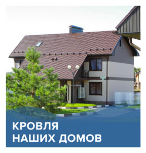 Кровля наших домов | КП Варежки 3
