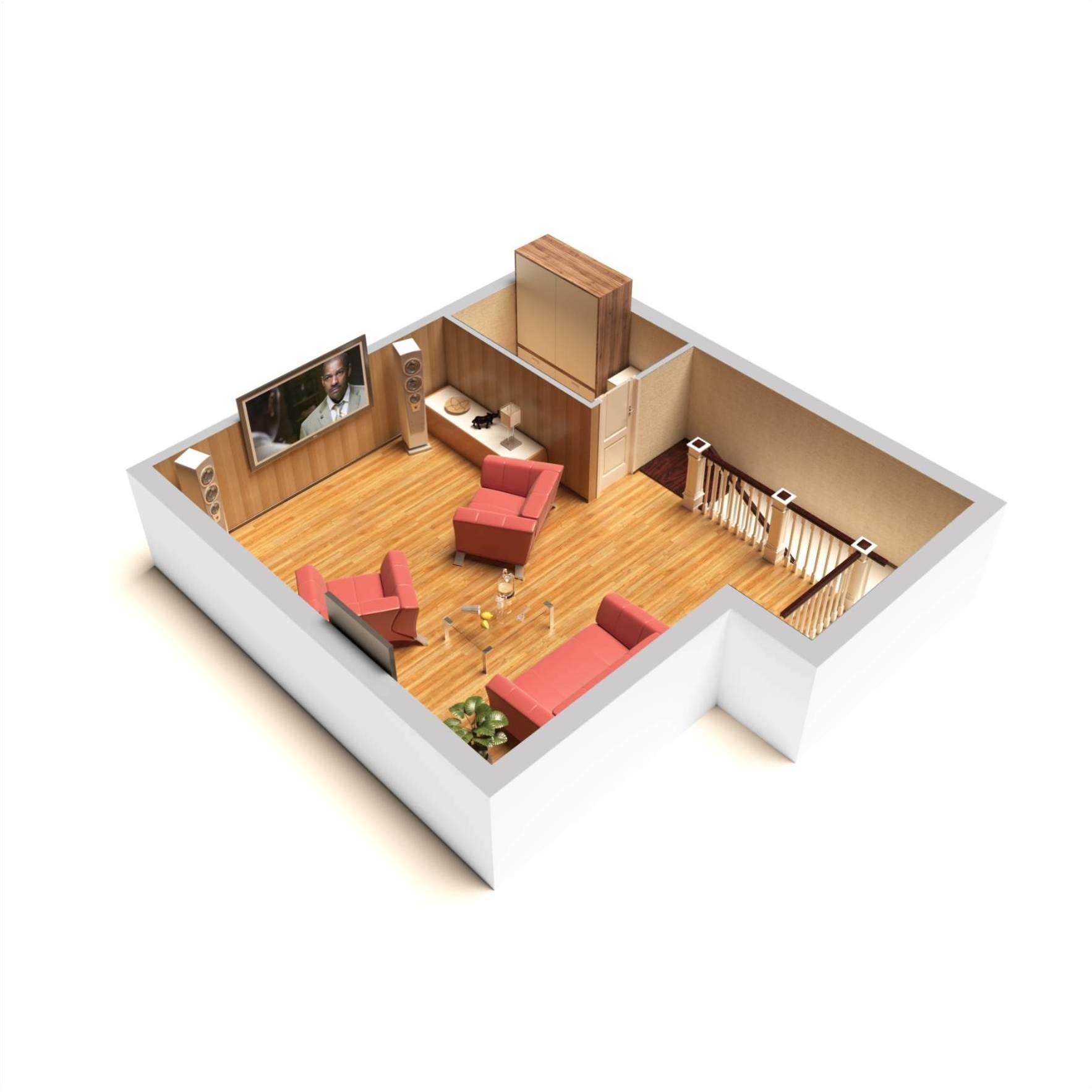 Секция — дуплекс Велюр 3 этажа — схемы | КП Варежки 3